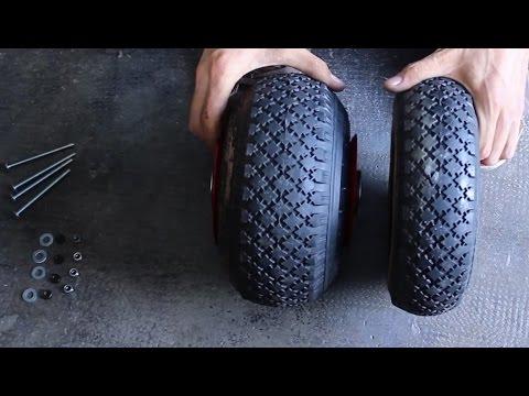 Tutorial rueda de carretilla modificada youtube - Ruedas de carretilla ...
