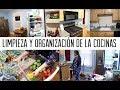 limpiando y organizando mi cocina / motivación para limpiar tu casa/ limpia conmigo limpiemos juntas