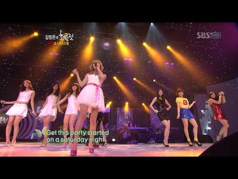 SNSD - Sweet Dreams & Get the party started , Apr10.2010