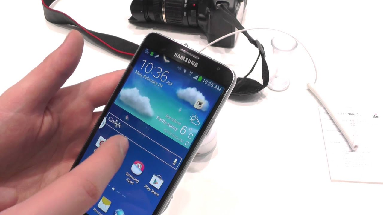 Samsung Galaxy Note 3 Neo First Impression and Hands On - YouTube