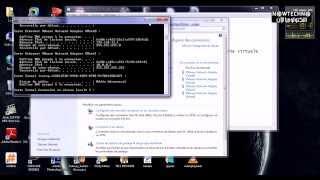 (machine virtual et réel)حل مشكل الربط بين حاسوب افتراضي و حقيقي