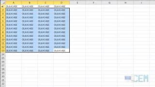 Excel 2: Alternativa de relleno y control de hojas.