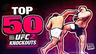 EA SPORTS UFC 2 - TOP 50 UFC 2 KNOCKOUTS - Community KO Video ep. 13
