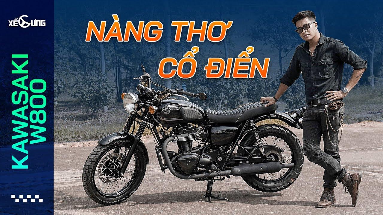 """Trải nghiệm Kawasaki W800 Black Edition: """"Nàng thơ"""" trong phân khúc xe mô tô cổ điển tại Việt Nam"""