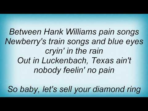 George Canyon - Luckenbach, Texas (Back To The Basics Of Love) Lyrics