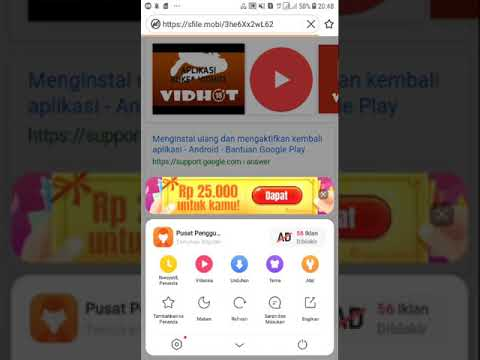 Cara download aplikasi bokep, si montok, max tube dll