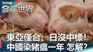 東亞僅台、日沒中標!中國染豬瘟一年 怎解? - 李四端的雲端世界