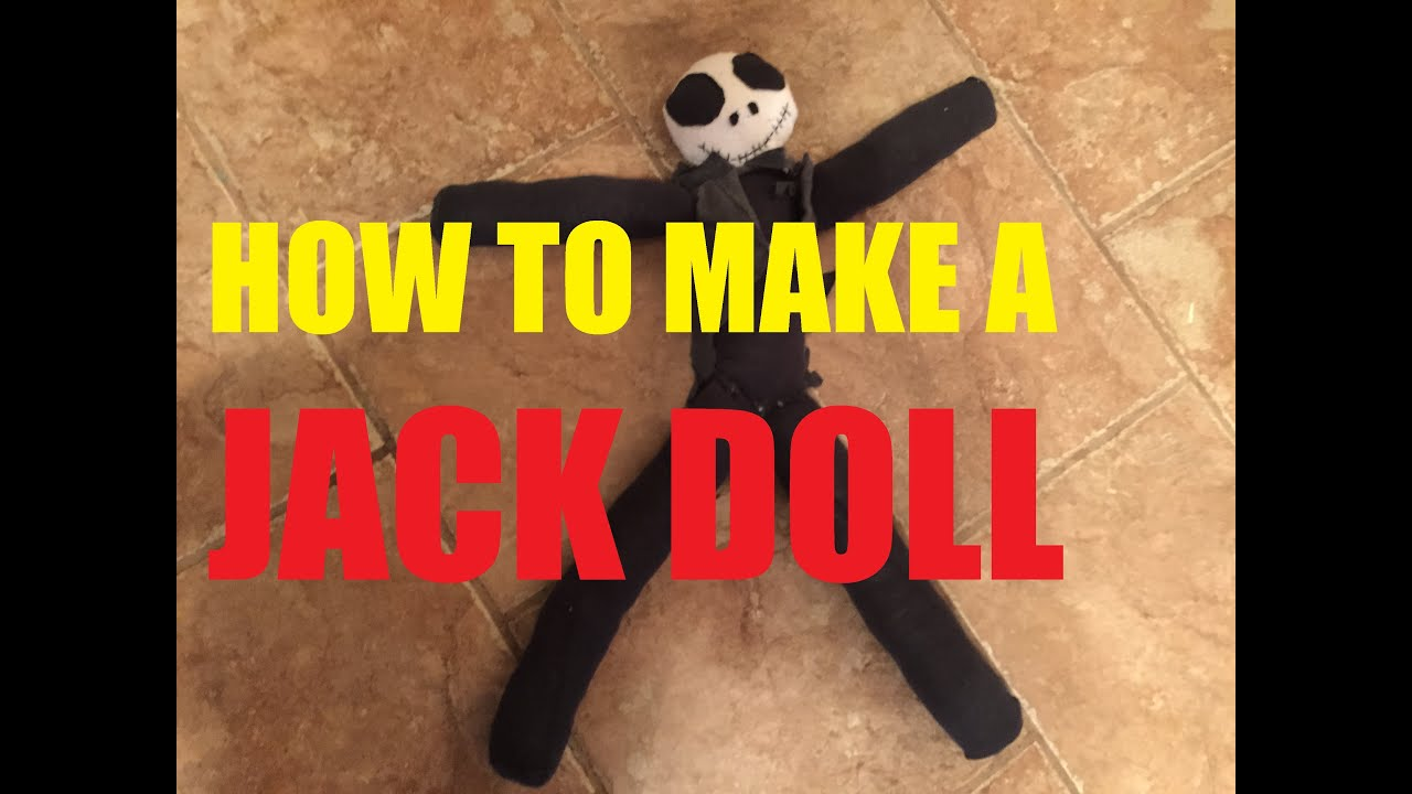 Diy jack skellington s body nightmare before christmas youtube - How To Make A Stuffed Doll Nightmare Before Christmas Time Lapse Jack Toy