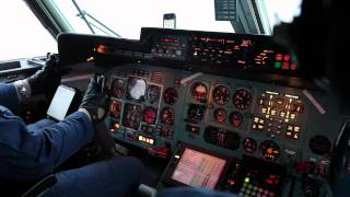 Полет в кабине военного Ан-72
