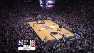 2005 NBA Finals - Detroit vs San Antonio - Game 2 Best Plays