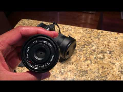 SONY A7Riii BEST LENS FOR TRAVELING Sony Sonnar T* FE 35mm f/2.8 ZA Lens