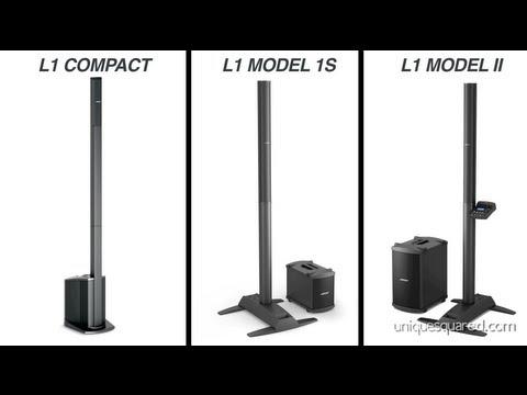 Bose L1 Portable Speaker Systems Overview | UniqueSquared.com