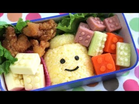 lego bento lunch box kyaraben youtube. Black Bedroom Furniture Sets. Home Design Ideas
