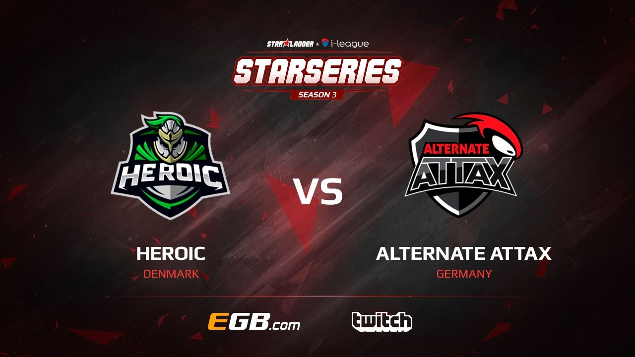Heroic vs ALTERNATE aTTaX, map 1 nuke, SL i-League StarSeries Season 3 Europe Qualifier