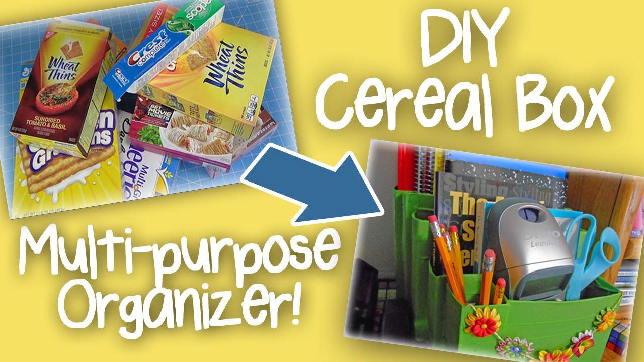 American Girl Doll Breakfast Cereal DIY