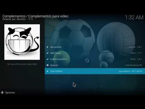 Instalación AdrianList Full Peliculas, Series Deportes y TV (03-09-2017)