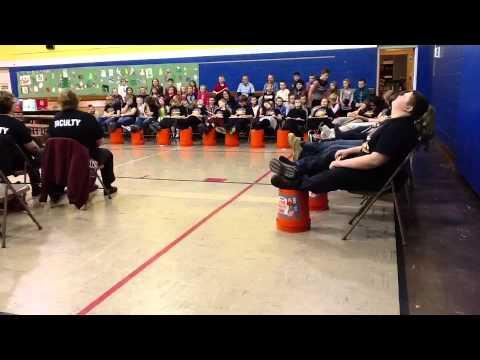 "Crescent City Grade School Student Drum Line ""The Crescent Beat"""