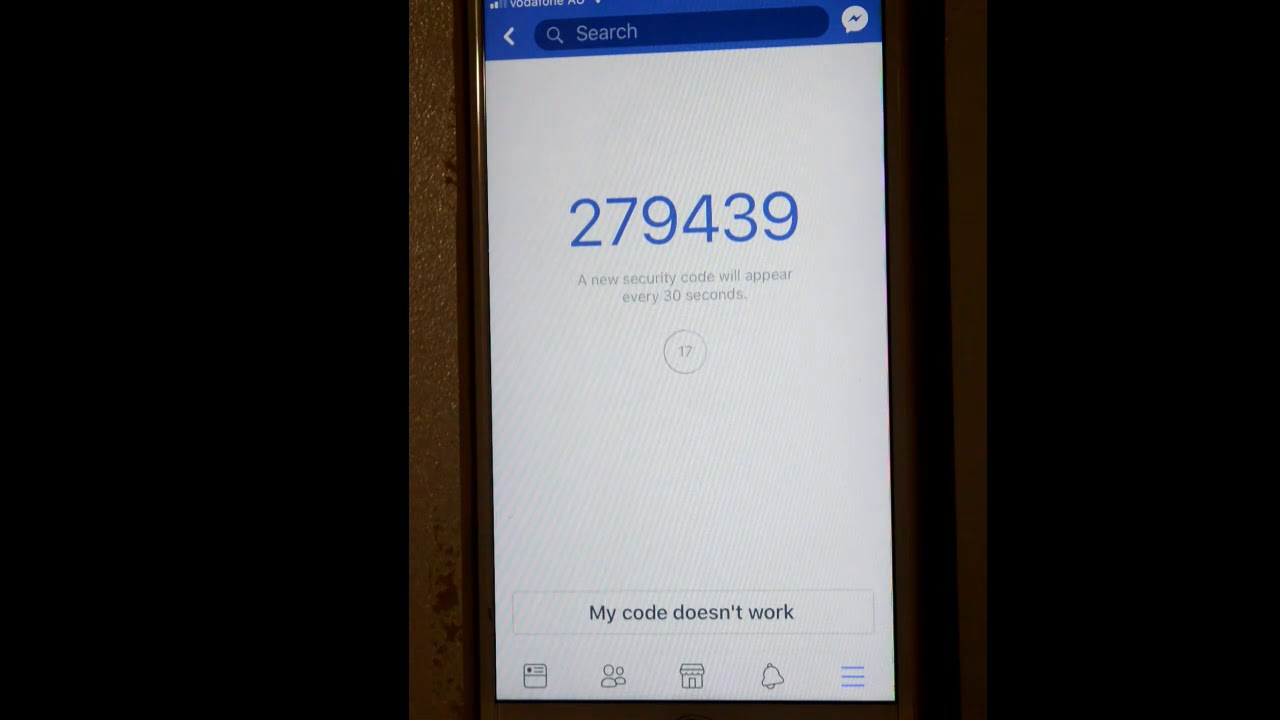 How To Use Code Generator In Facebook Ios Or Iphone App Youtube
