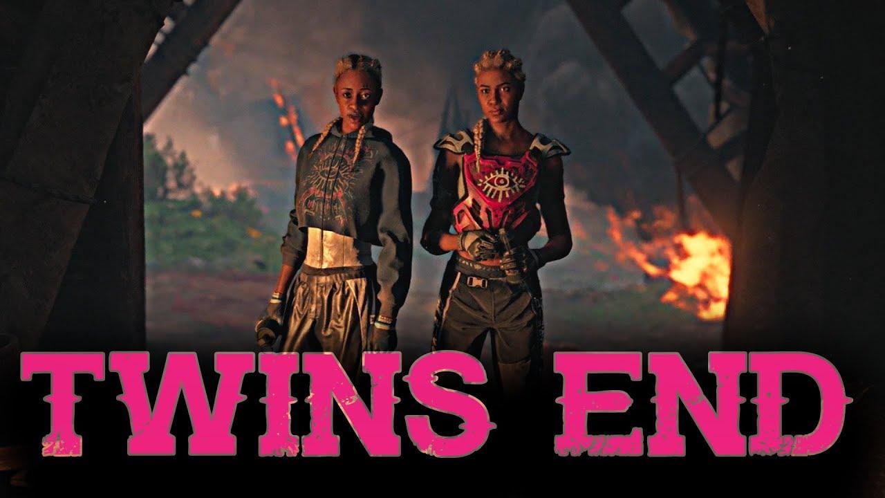 Far Cry New Dawn Killing The Twins Boss Fight Youtube