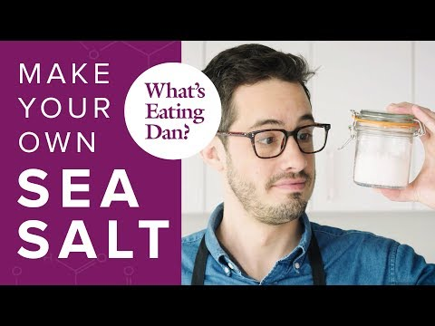 The Science of Salt: How it Impacts Your Cooking and How to Make Your Own: Salt | What's Eating Dan?