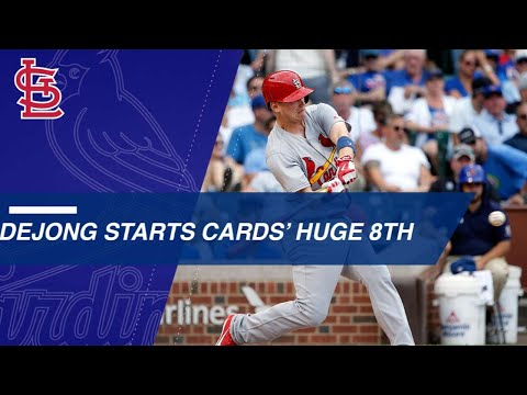 Cards put on 11 consecutive runners in nine-run 8th