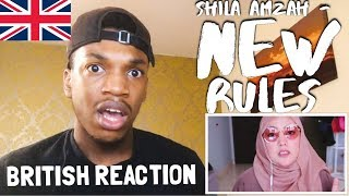 SHILA AMZAH - NEW RULES (DUA LIPA) REACTION Video