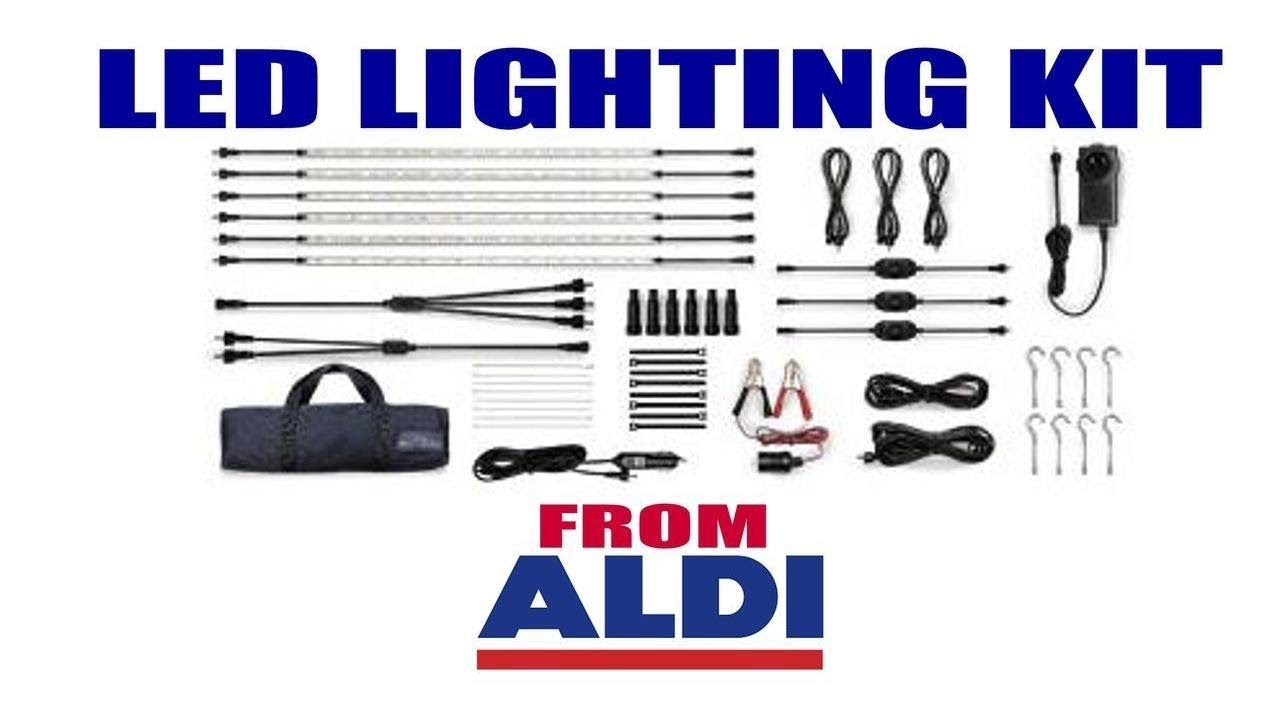 online store 76905 f650b LED Strip Lights from Aldi - Caravan and Camping gear