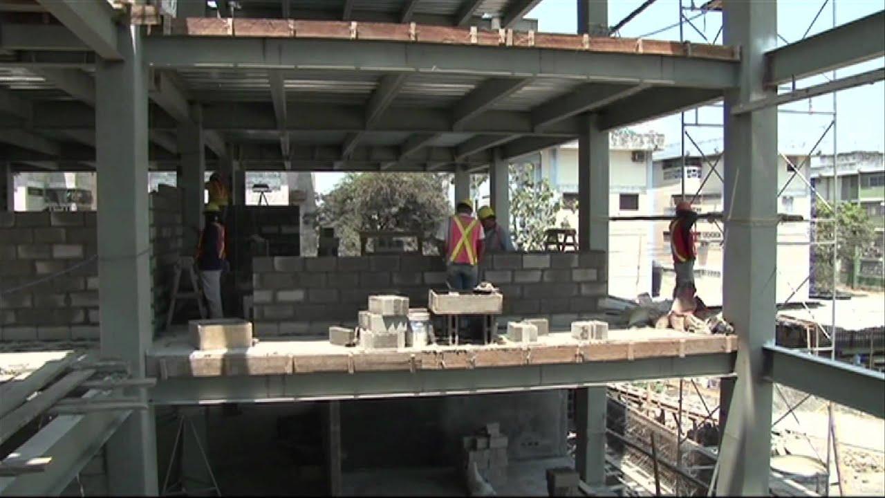 En guayaquil avaza la construcci n de los nuevos for Videos de construccion de edificios