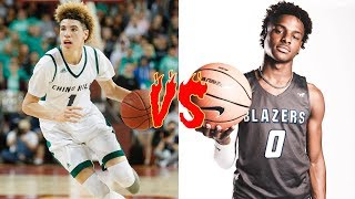 15 Year Old Lamelo Ball VS 15 Year Old Bronny James