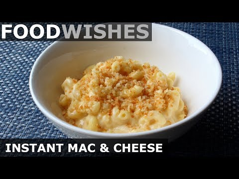 """Instant"" Mac & Cheese - One-Pan No-Bake Mac & Cheese - Food Wishes"