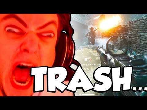 I'm TRASH at Battlefield 5...