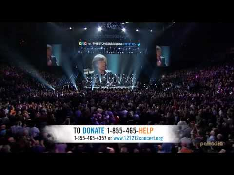 The Rolling Stones Live At Sandy Relief Concert