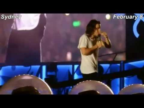 Harry Styles Cute Funny Hot OTRA Moments Australian Leg Part 1