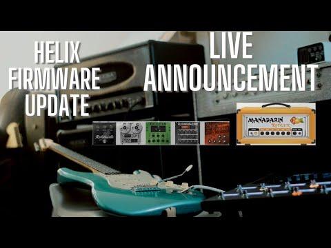 BREAKING NEWS - Line 6 Helix 3.1 Firmware!!