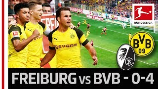 Dortmund's fabulous four fire borussia to victory► sub now: https://redirect.bundesliga.com/_bwcsit was a statement of intent from dortmund in the t...