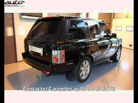 land rover range rover occasion visible toulouse pr sent e par carsmiles youtube. Black Bedroom Furniture Sets. Home Design Ideas