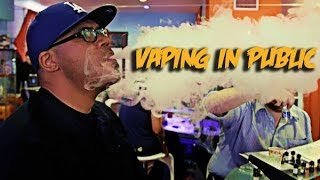 Vaping E-Cigs In Public?