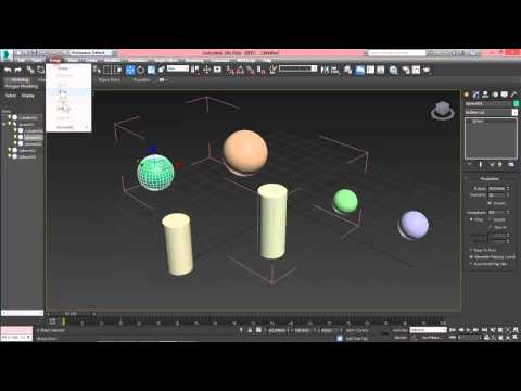 3D Max. Создание объектов и работа с ними