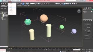 3ds Max для начинающих урок 5 ( группировка объектов )