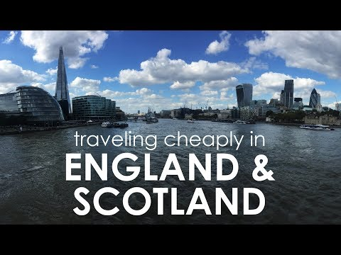 Traveling Cheaply in the United Kingdom