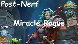 Hearthstone: Miracle Rogue Post-Nerf #1: Witchwood (Bosque das Bruxas) - Standard Constructed