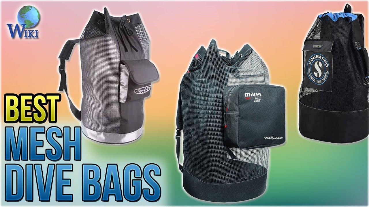 8edf861885 10 Best Mesh Dive Bags 2018 - YouTube