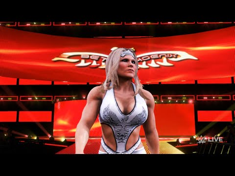 WWE 2K20 - Beth Phoenix vs Naomi.