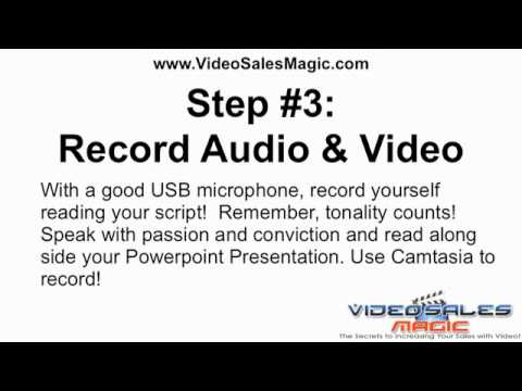 Video Salesletter The 5 Step Process Youtube