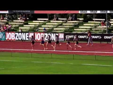 800m kvinner finale - NM Tønsberg 2013