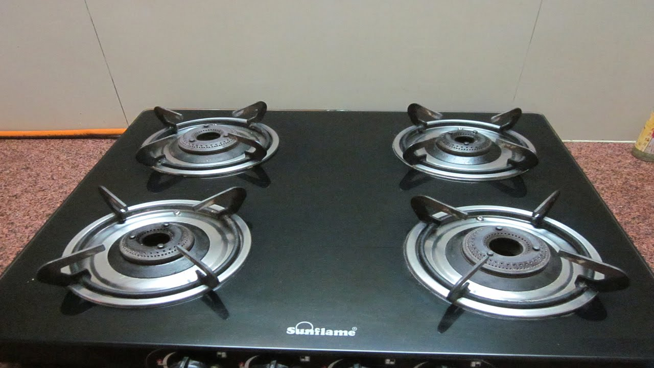 How To Clean Gl Top Stove You