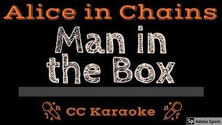 Alice In Chains • Man in the Box (CC) [Karaoke Instrumental Lyrics]
