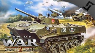 1v1 USSR VDV vs West-German Assault - Men of War: Assault Squad 2 Multiplayer Gameplay