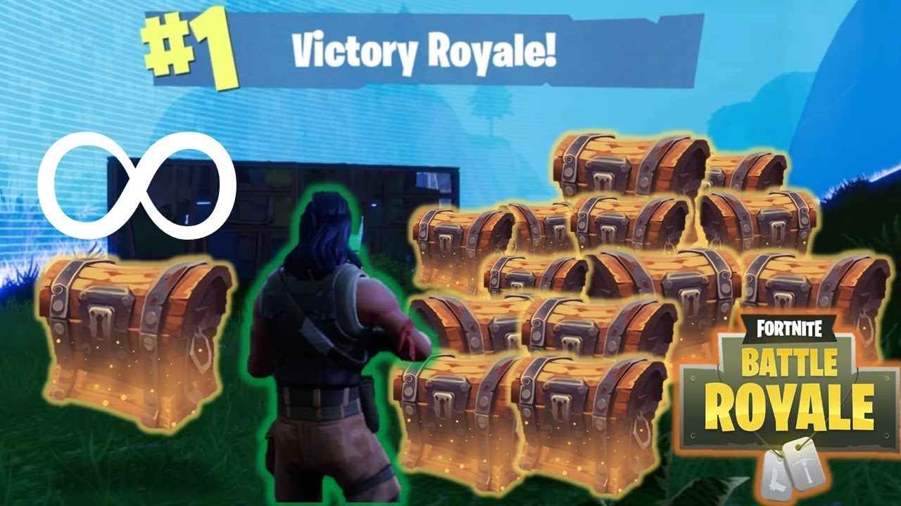 Unlimited Chests For The Win Fortnite Battle Royale