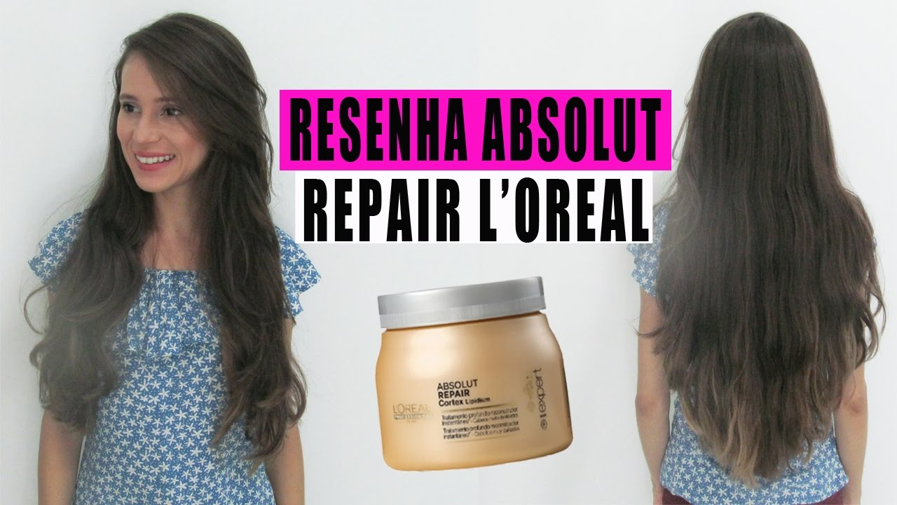 39c379bfa Máscara RECONSTRUÇÃO ABSOLUT REPAIR Cortex Lipidium L'OREAL | Stella Alves